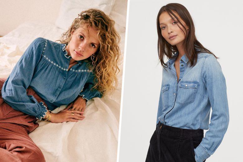 Come abbinare la camicia di jeans in autunno? Ecco 5 outfit che adorerete