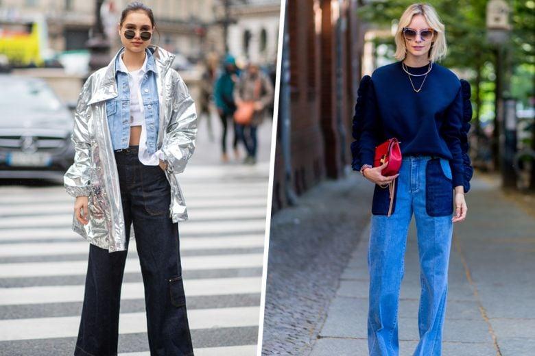 I jeans possono essere anche eleganti? Quelli a palazzo sì!