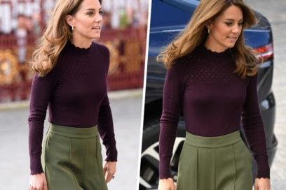 Kate Middleton e il look autunnale che tutte vorremmo (e che è pure low cost)