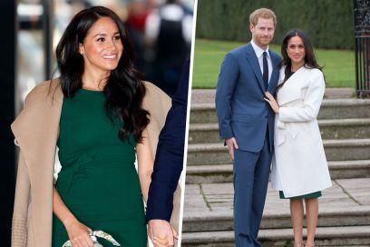 Meghan Markle ricompare di verde vestita (e con lo stesso abito indossato nel 2017)
