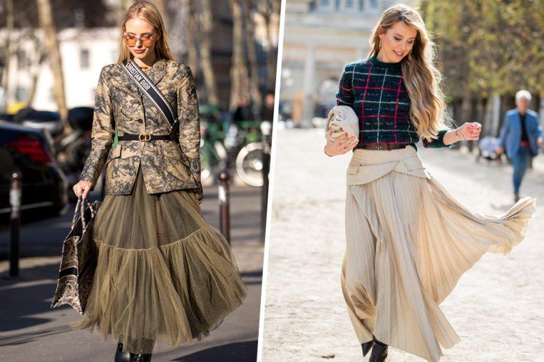 Come indossare la gonna lunga in autunno? Ecco 5 abbinamenti che non vedrete l'ora di provare