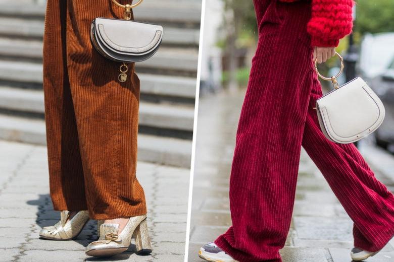 Pantaloni di velluto: i modelli più chic (che non vedrete l'ora di sfoggiare)