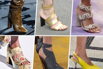 Scarpe Primavera-Estate 2020: tutti i modelli must have dalle sfilate