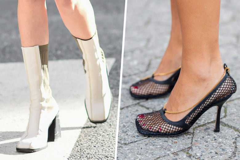 From Nineties with love: le scarpe a punta quadrata sono tornate!
