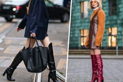 La stagione è perfetta per… indossare un nuovo paio di stivali cuissardes!