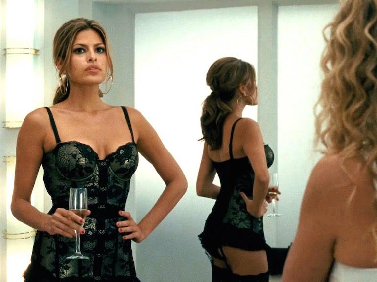 Eva Mendes lingerie