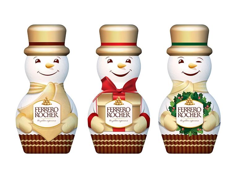Ferrero Rocher_Snowman