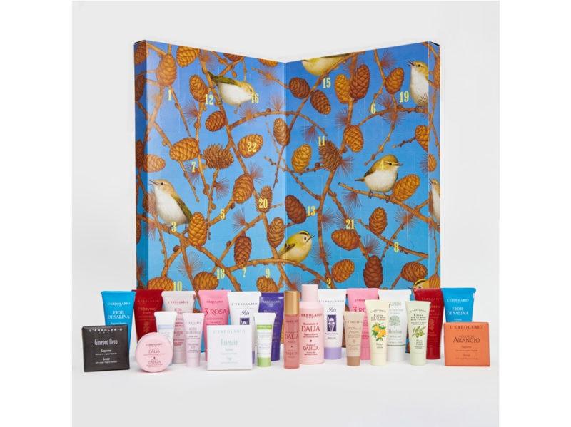 L'ERBOLARIO-calendario-dell'avvento-beauty-make-up-trucchi-creme-profumi-natale-2019
