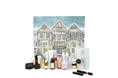 LIBERTY-LONDON-calendario-dell'avvento-beauty-make-up-trucchi-creme-profumi-natale-2019