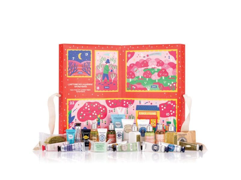 L'OCCITANE-EN-PROVENCE-CLASSIC-calendario-dell'avvento-beauty-make-up-trucchi-creme-profumi-natale-2019