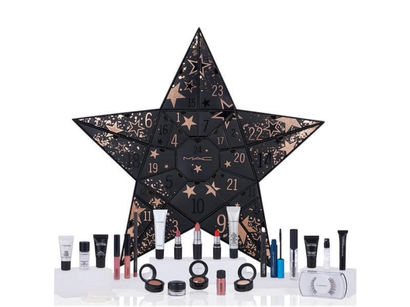 MAC-COSMETICS-calendario-dell'avvento-beauty-make-up-trucchi-creme-profumi-natale-2019