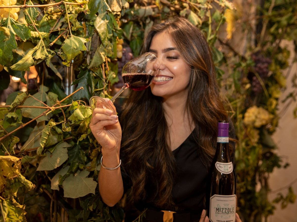 Milano wine week vini Pasqua boutique Falconeri evento La Vendemmia di Montenapoleone Milano 2