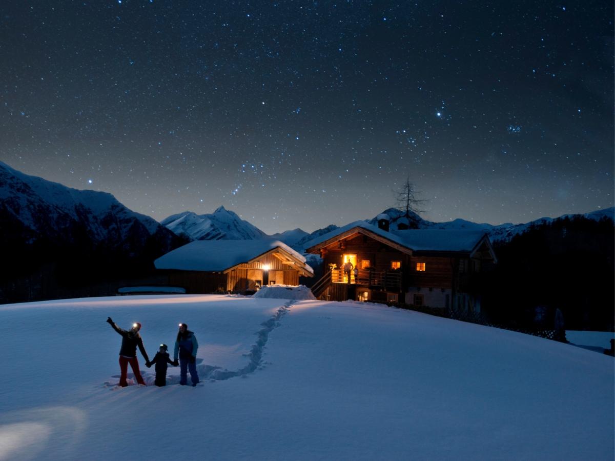 Notte stellata Parco Nazionale Alti Tauri ©Kaernten Werbung:Klaus Dapra