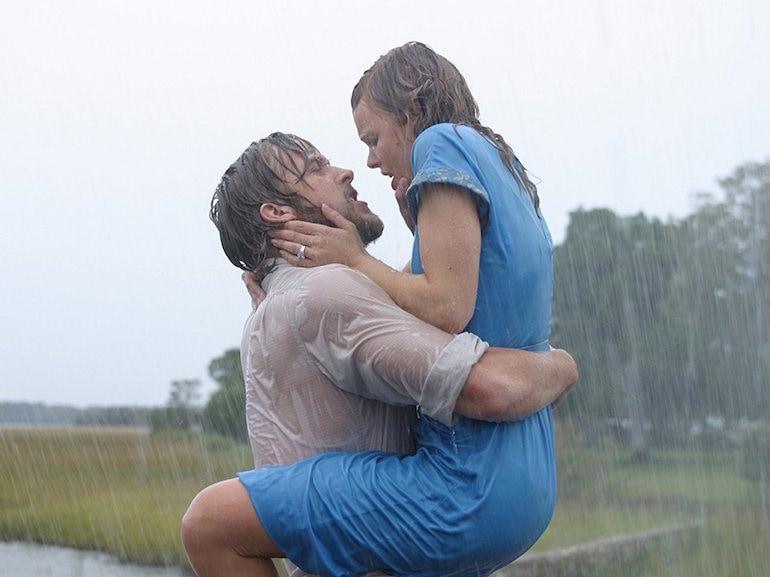 Ryan Gosling camicia bagnata