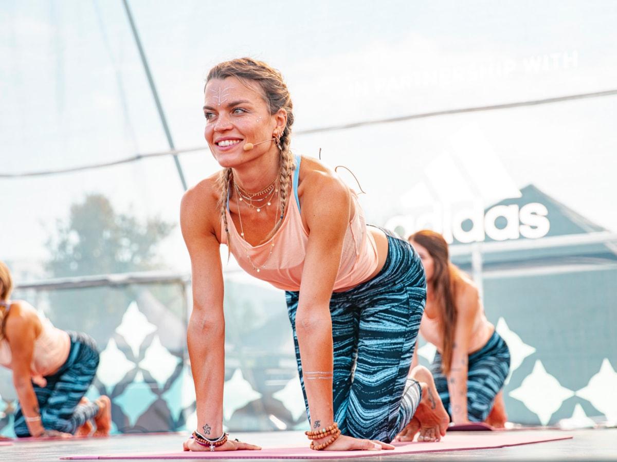 Wanderlust 108 Roma Milano yoga corsa meditazione Denise della Giacoma