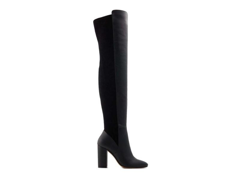 aldo-shoes-stivali-sopra-il-ginocchio-in-pelle-nera