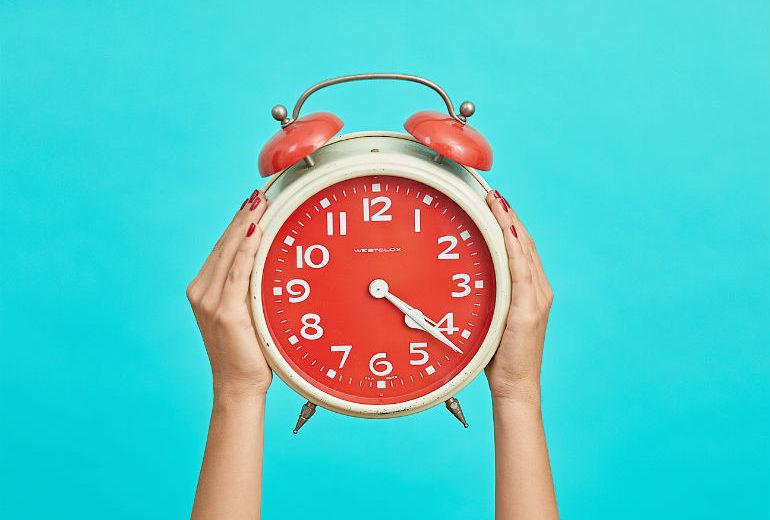 5 trucchi per non soffrire il cambio dell'ora