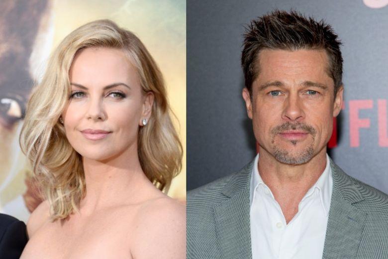 Charlize Theron smentisce la relazione con Brad Pitt