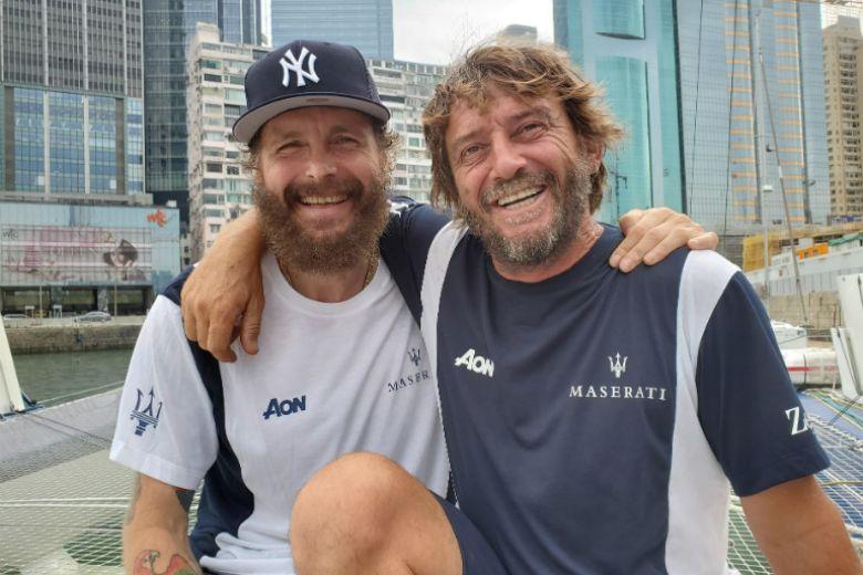 Tutti pronti a tifare per Jovanotti e Soldini, insieme in regata a Hong Kong