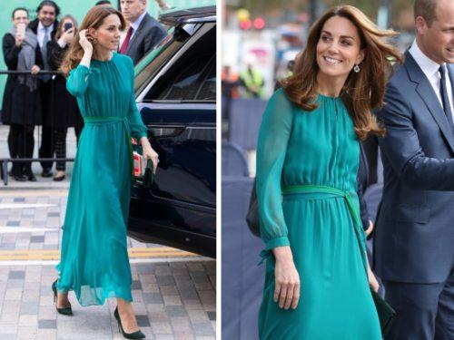 Abito Cerimonia Kate Middleton.Il Vestito Verde Di Kate Middleton E L Abito Da Cerimonia Che