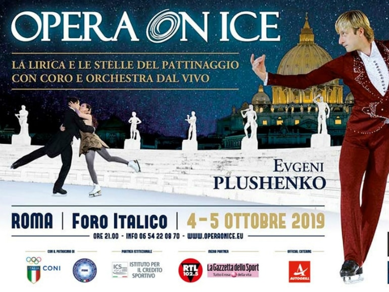 opera on ice foro italico