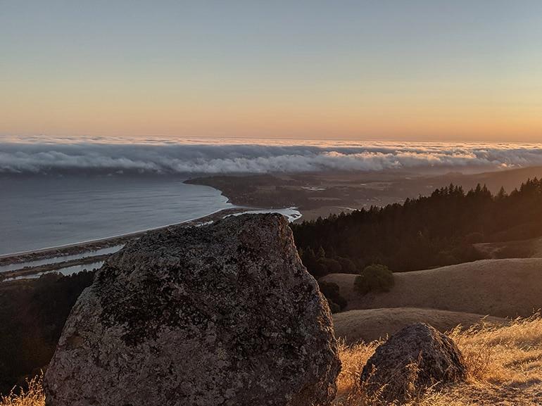 pixel 4 foto tramonto