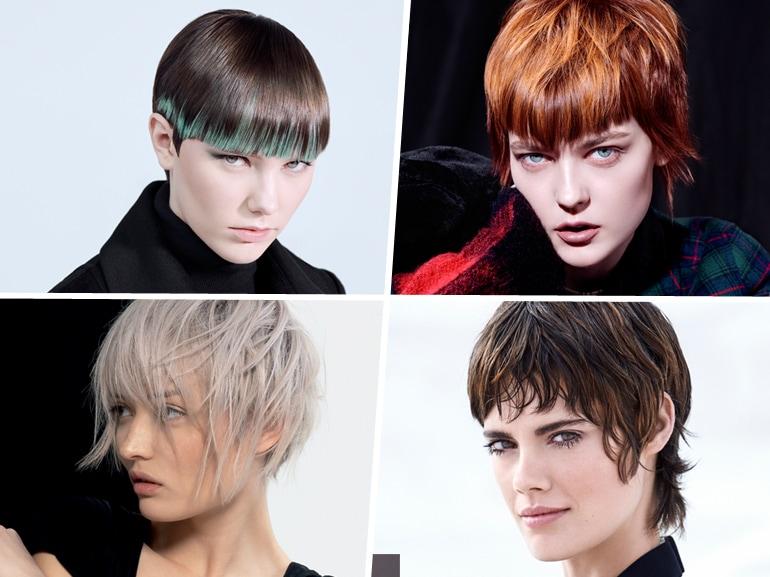 tagli di capelli corti saloni autunno inverno 2019 2020 MOBILE