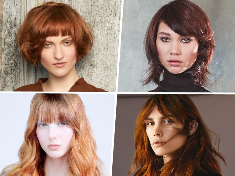 tendenze frangia capelli saloni autunno inverno 2019 2020 MOBILE