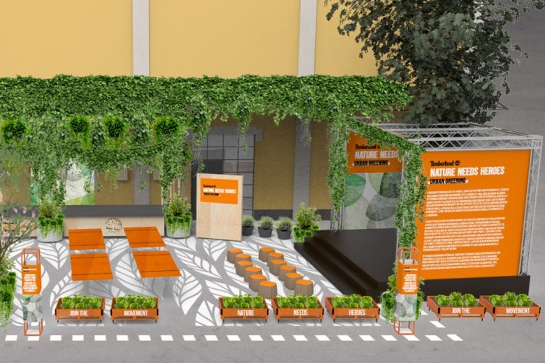 "Arriva a Milano ""Urban Greening"", l'orto urbano by Timberland"