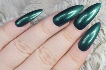 Nail art verde: le idee più belle per unghie cool