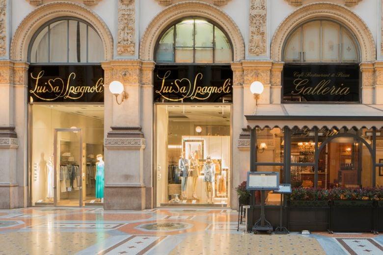 La boutique milanese Luisa Spagnoli diventa Bottega Storica