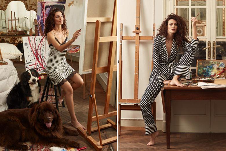 Paola Turani firma una capsule di sleepwear per Twinset U&B