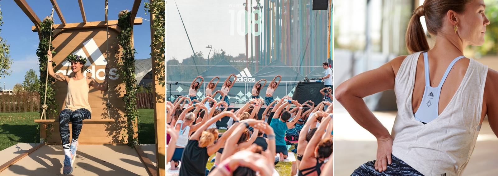 wanderlust 108 milano adidas yoga corsa meditazione Desk