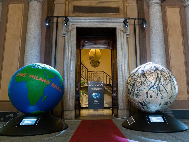 weplanet milano 2020 globi di artista installazione 10