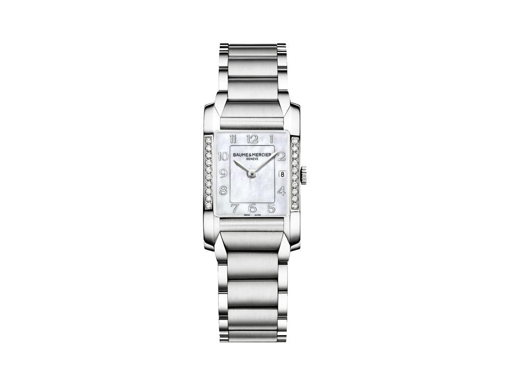 12-baume-marcier-hampton-10051-in-acciao-con-diamanti