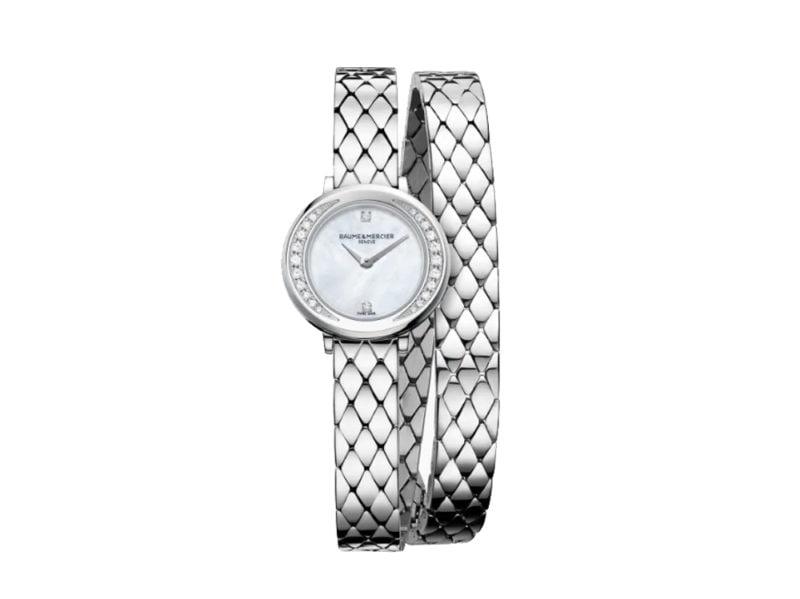 Baume&mercier-orologio-Petite-Promesse-al-quarzo-con-diamanti-e-quadrante-ellittico-