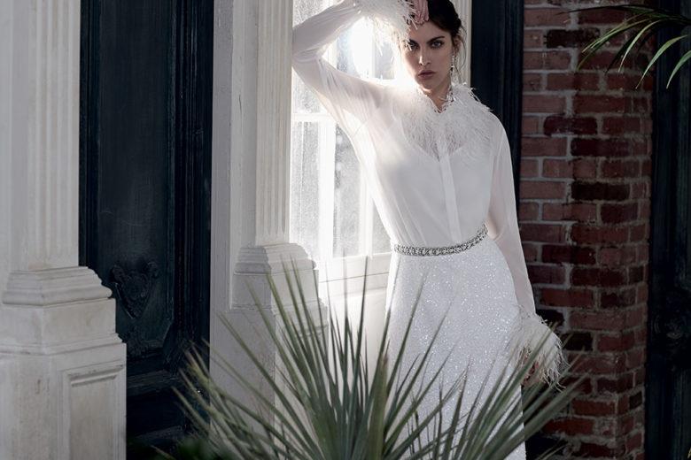 Gli abiti da sposa per l'inverno 2020