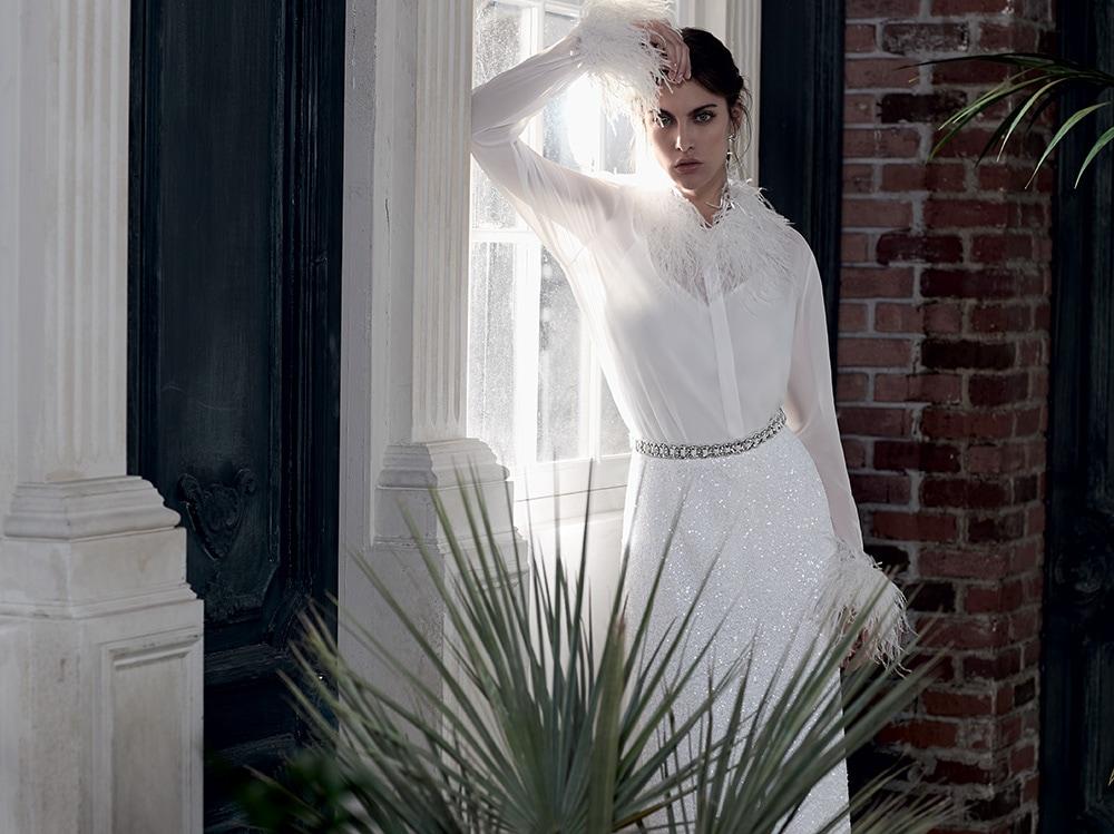 Vestiti Da Sposa Invernali.Abiti Da Sposa Inverno 2020 I Piu Belli Dalle Collezioni Bridal