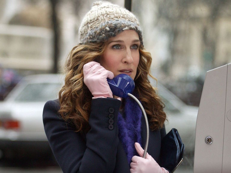 Carrie Bradshaw cappello lana