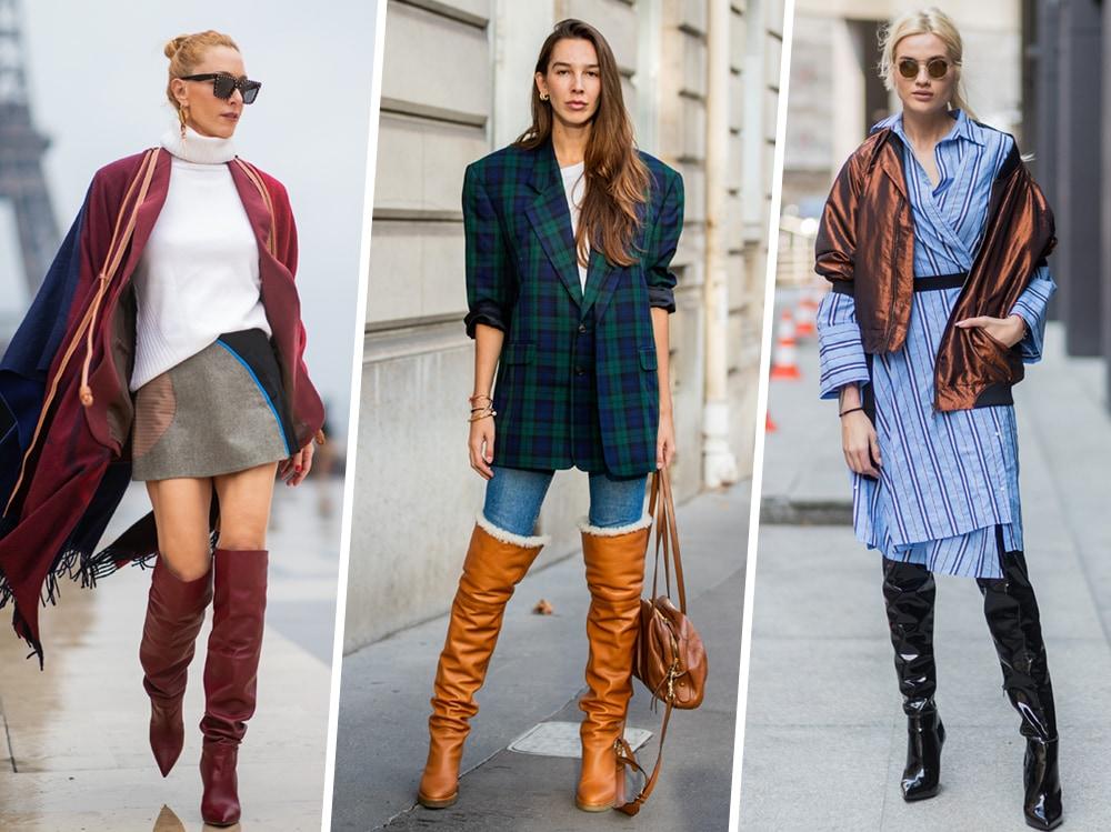 Stivali al ginocchio: 6 modi per indossarli con stile | Stylight