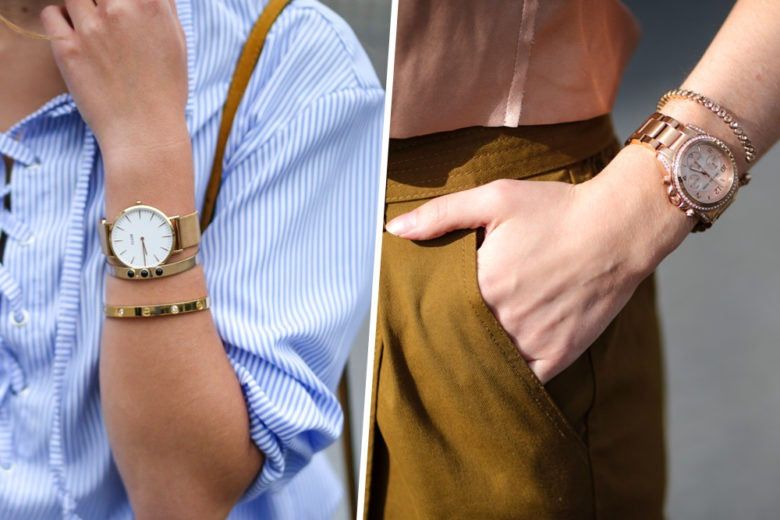 Rosé, gold e silver: i bagliori metallici per gli orologi di stagione