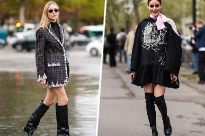 Stivali neri: sì, lo ammettiamo, sono (sempre) loro i nostri preferiti!