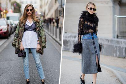 5 outfit top per indossare la bralette (sì, anche d'inverno)!