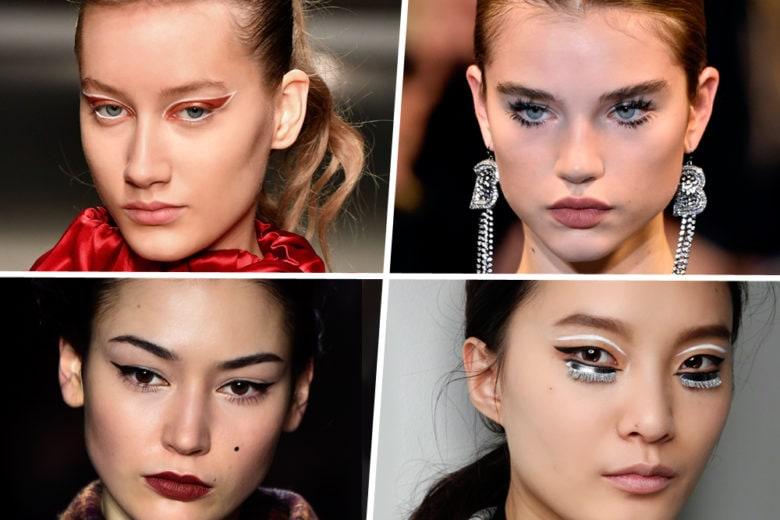 Make up per le feste: dalle passerelle, le idee più originali ed eleganti da copiare