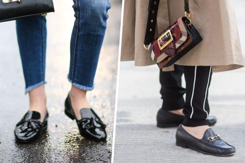 Con i mocassini ai piedi sarete sempre chic (e no, non s'indossano solo in ufficio)
