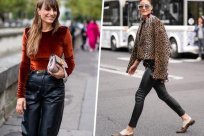 Come abbinare i pantaloni di pelle nera: 5 idee look da provare ora