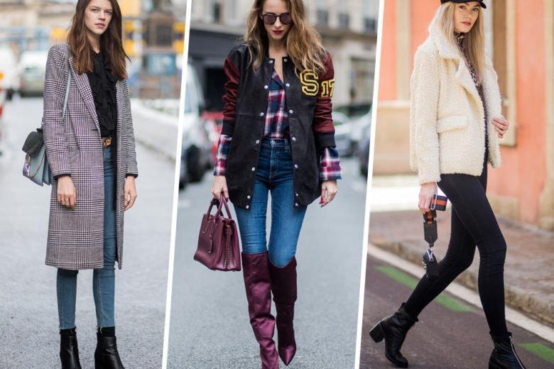 Tanto skinny quanto top: i jeans stretti must have si indossano così
