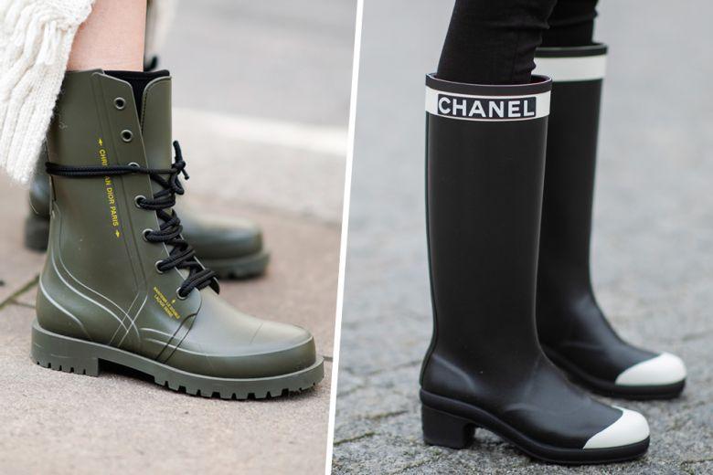 Stivali da pioggia: i modelli più trendy di questo autunno-inverno