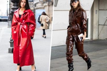 Il vinile sarà il particolare glossy che rivoluzionerà i vostri outfit invernali!