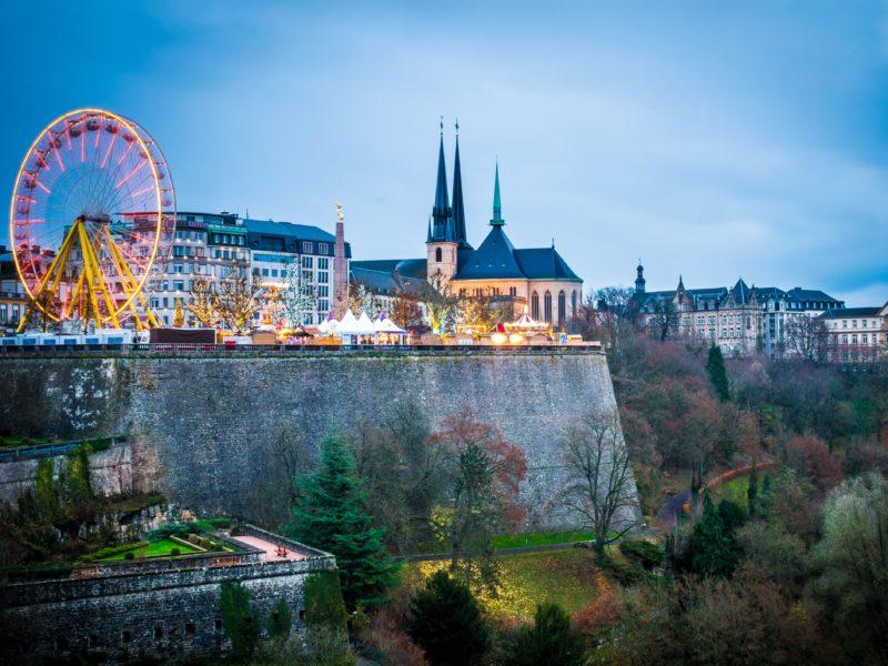 Lussemburgo Mercatini Natale 2019 Italia Europa